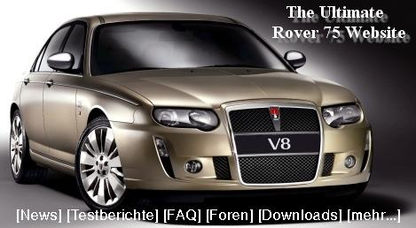 The Ultimate Rover 75 Web Site